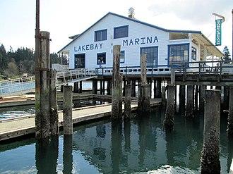 Key Peninsula - Lakebay Marina near Penrose Point State Park.JPG