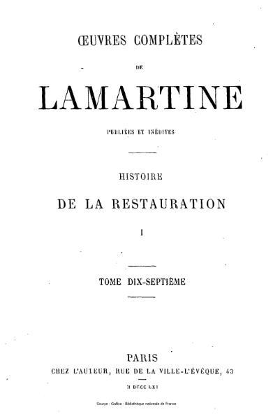 File:Lamartine - Œuvres complètes de Lamartine, tome 17.djvu