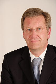 Christian Wulff President of Germany from 2010 to 2012
