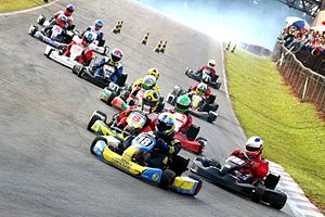 Competitive Kart Racing