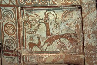 Ibexes on Minoan larnax
