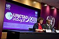 Last daily Press Conference of the Spokesperson of UNCTAD XIII (7115280859).jpg