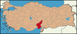 Latrans-Turkey location Adana.svg