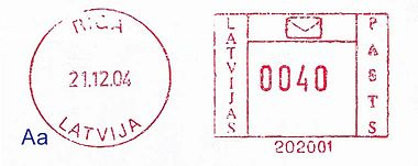 Latvia stamp type EF1Aa.jpg
