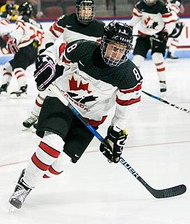 Laura Fortino Canadian ice hockey player