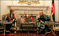 Laura Bush with Hamid Karzai in 2005.jpg