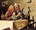 Le marchand de vin et son épouse Pompeo Massani 1850 1920.jpg