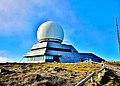 Le radar au sommet du grand ballon. 2014-10-28.jpg