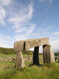 Legananny Dolmen Dolmen in Northern Ireland