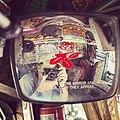 Leica selfie in the rear view morrow of an Indian truck (14686369494).jpg