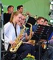 Leipzig 100 Deutscher Katholikentag Big Band Gymnasium St Mauritz Muenster 06.JPG
