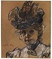Leo Putz - Porträt Gertraud Luberich. 1899.jpg