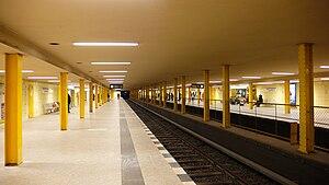 Leopoldplatz (Berlin U-Bahn) - U-Bahn station Leopoldplatz