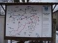 Lety, Sokolská, mapa cyklotras.jpg