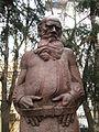 Lev Tolstoy by Merkurov (Prechistenka) by shakko 04.jpg