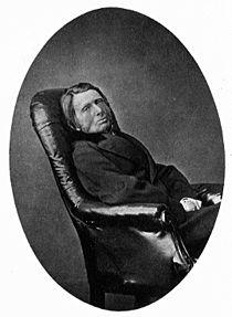 John Ruskin 1874, fotografiert von Lewis Carroll