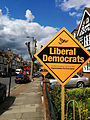 LibDem posterboards Hornsey Wood Green 7 May 2015.jpg