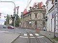 Liberec, lékárna, křižovatka, pohled od zastávky.jpg