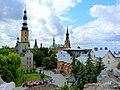 Licheń, Sanktuarium - po lewej widoczny kościół Św.Doroty. - panoramio.jpg