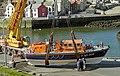 Lifeboat at Eyemouth (1) - geograph.org.uk - 621890.jpg