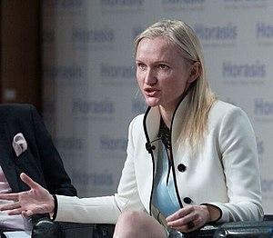 Lila Tretikov, CEO, Terrawatt Initiative, summarizing the results of the meeting (42112287521) (cropped).jpg