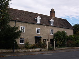 Lillington, Warwickshire - Image: Lillington Warks Manor House