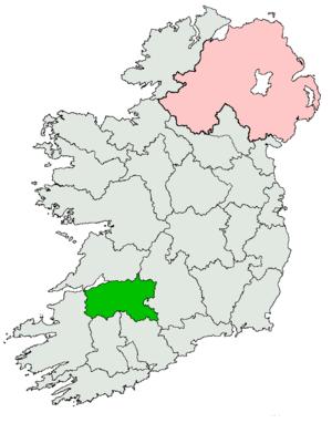 Limerick (Dáil Éireann constituency) - Image: Limerick Dáil constituency 1923 1947