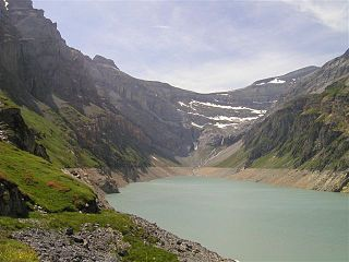 Limmernsee reservoir