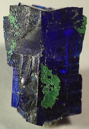 Linarite - Image: Linarite 37781