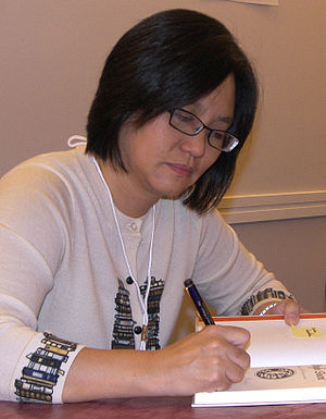 Linda Sue Park at the 2007 Texas Book Festival...