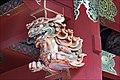 Lion karajishi sur le Niômon du temple Taiyuin (Nikko, Japon) (42419098465).jpg