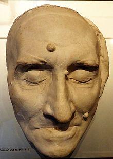 Liszts Totenmaske (Quelle: Wikimedia)