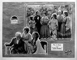 Little Women (1918 film) - Lobby card