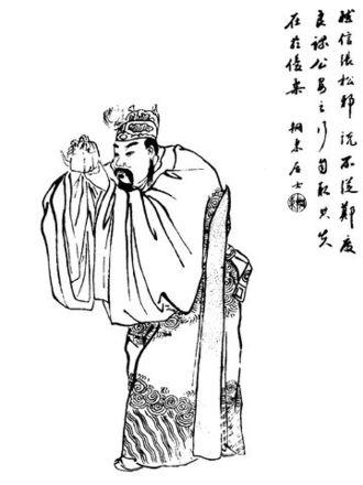 Liu Zhang (warlord) - A Qing dynasty illustration of Liu Zhang