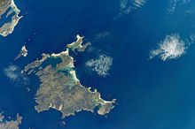 Satellittfoto av Lively Island Foto: NASA