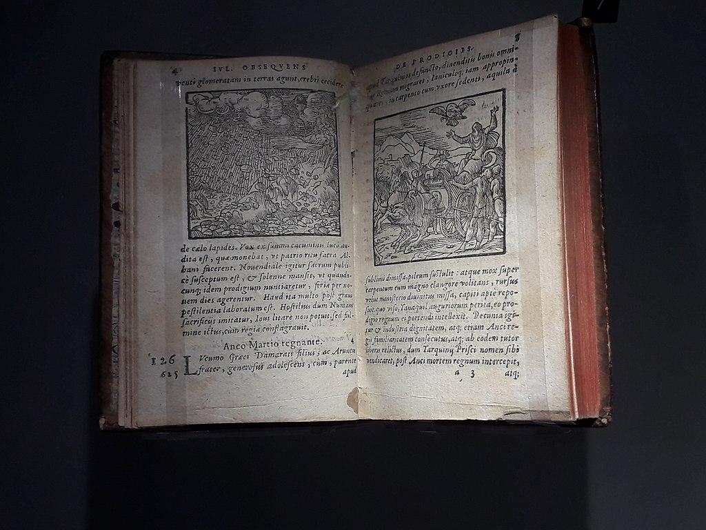 File Livre Des Prodiges De Lycosthene Exposition Meteorites