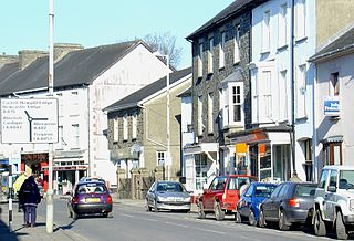 Lampeter town in Wales, United Kingdom
