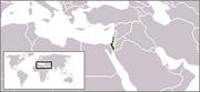 Localización de Israel