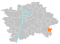 Location map municipal district Prague - Královice.PNG
