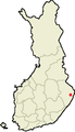 Location of Ilomantsi in Finland.png