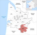 Locator map of Kanton Le Sud-Gironde 2019.png