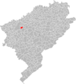 Locator map of Montfaucon, Doubs.png