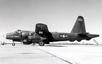 Lockheed P-2 Neptune - Side view of RB-69A (S/N 54-4037), the first converted P2V-7U (BuNo 135612)