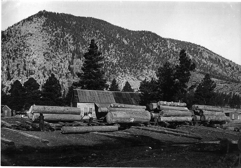 File:Log Washing Pond - 1912 (5375537335).jpg