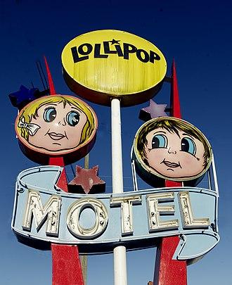 Carol M. Highsmith - Neon sign of the Lollipop Motel in North Wildwood, New Jersey