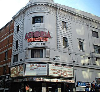 London Astoria former music venue in Charing Cross Road, London, England