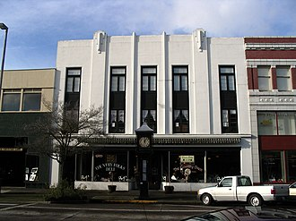 National Register of Historic Places listings in Cowlitz County, Washington - Image: Longview, WA Big Four Furniture Building