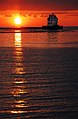 Lorain lighthouse at sunset.jpg