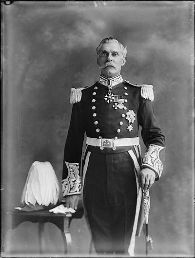 Lord Islington in the traditional ceremonial uniform Lord Islington.JPG