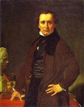 Lorenzo Bartolini - Lorenzo Bartolini by Ingres